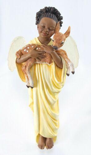 Thomas Blackshear Ebony Visions  2008 DEERLY LOVED Ornament NIB