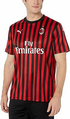 PUMA AC Milan Mens Home Replica Jersey Football Soccer Shirt Rossoneri 3XL NEW