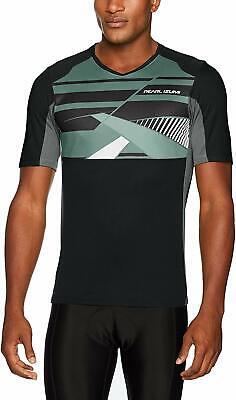 PEARL iZUMi Cycling Gear - Launch Mountain Bike MTB Jersey - Black Large L