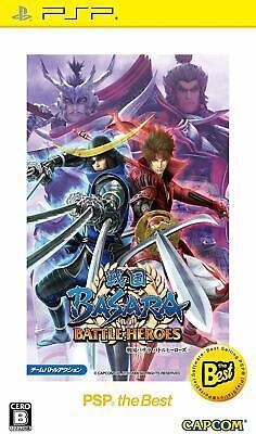 Capcom Sengoku Basara: Battle Heroes PSP the Best Japan