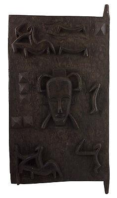 Porte of Attic Senoufo 69x36 cm Art Africa-Africa Western Dogon 16401
