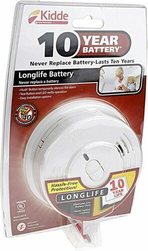 10-Year Sealed Lithium Battery-Operated Smoke Alarm i9010 Smart Hush(6 Pack)