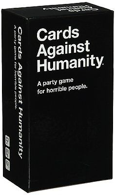 Cards Against Humanity, 550 Card Party Game, New, Free Shipping