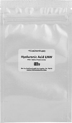 Hyaluronic Acid Powder Low Molecular Weight 10g