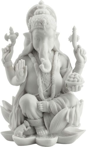 Rare Ganesh (Ganesha) Hindu Elephant God of Success Statue Sculpture Figurine
