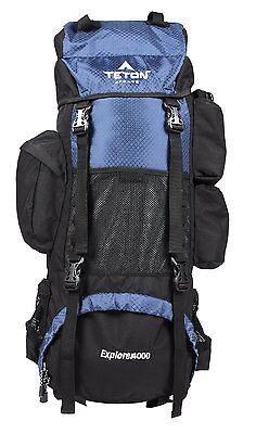 Teton Sports Explorer4000 Backpack Navy Blue 162