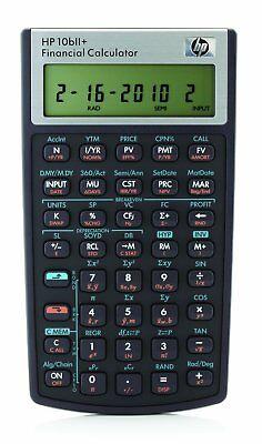 HP 10bii Financial Calculator 12-digit LCD Brand New