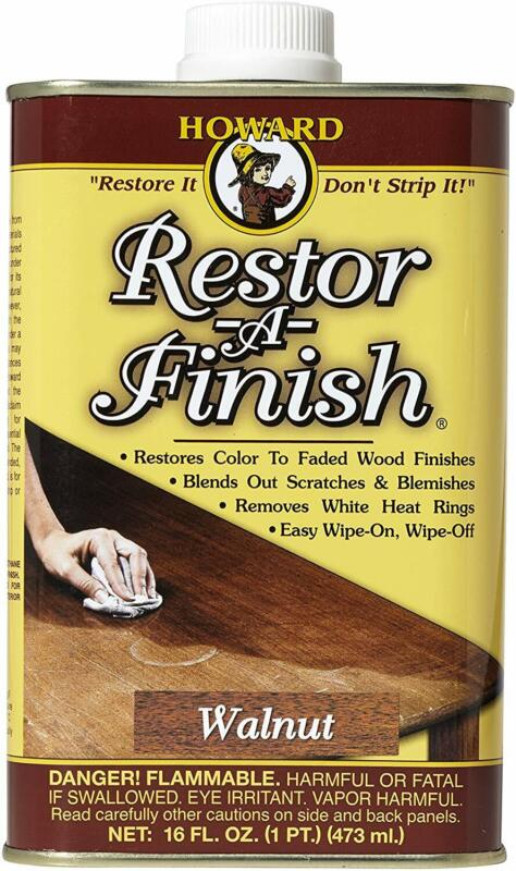 Restore Wood Finish Restor-A-Finish, Easy-to-use, Blend Scratches, 16 oz, Walnut