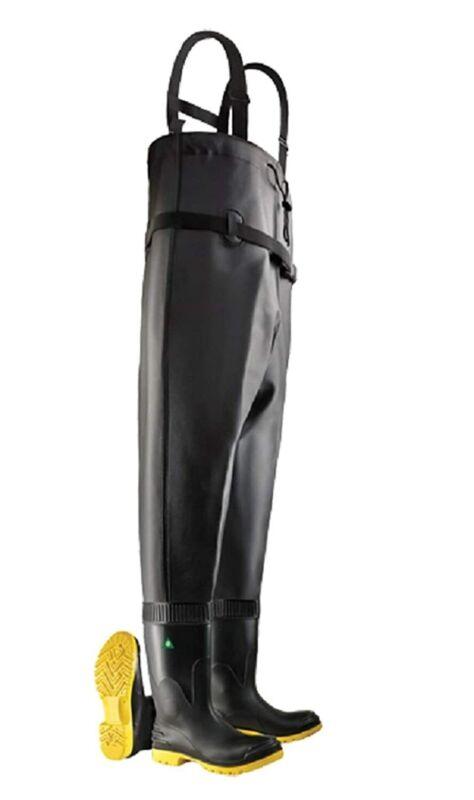 Dunlop Chest Wader Steel Toe & Midsole PolyBlend 6 Steel Midsole Waterproof PVC
