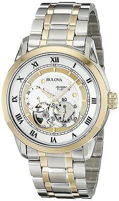 Bulova Men's 98A123 Two-Tone Stainless Steel Automatic Bracelet Watch