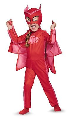 Disney PJ Masks Toddler Owlette Halloween Costume Dress Up 2T Small Red #N139 (Ups Halloween Costume Toddler)