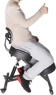 Lonabr Ergonomic Kneeling Chair Adjustable Knee Stool Seat Posture Home Office