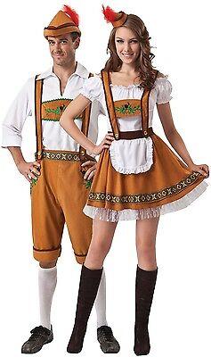 n Deutsches Oktoberfest Festival Kostüm Verkleidung Outfit (Oktoberfest Paare Kostüme)