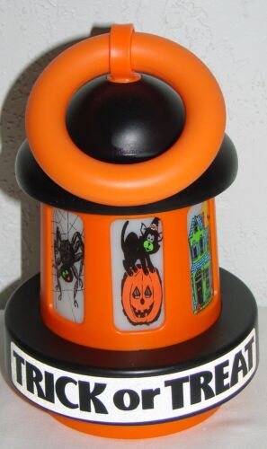 Trick or Treat Plastic Light Up Lantern Kids Halloween