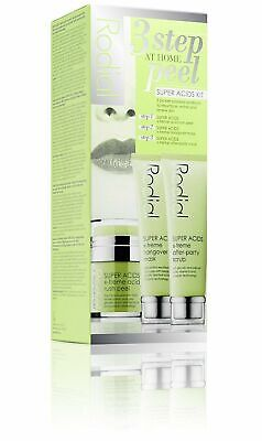 Rodial 3 Step At Home Peel Super Acids 3 Piece Kit NEW IN BOX