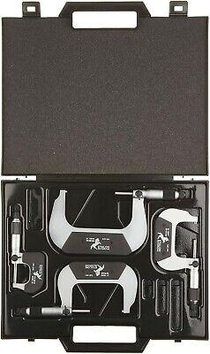 Brown Sharpe Tesa 00119050 Etalon Outside Micrometer Set 0-100mm Range 1000