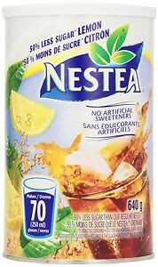 Looking for nestea 50% less sugar