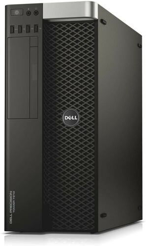 Dell Precision T7810 2x E5-2690 V3 2.6ghz 64gb 512gb Ssd 4tb K2200 Win10 Pro