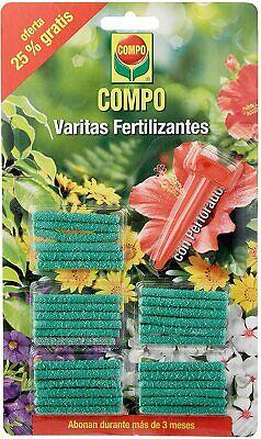 Compo 30 Clavos Fertilizantes Abono 3 meses,perforador,plantas interior exterior
