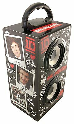 6w Portable Speaker For Laptopmp3phone Ipod Rechargeable Speaker One Direction