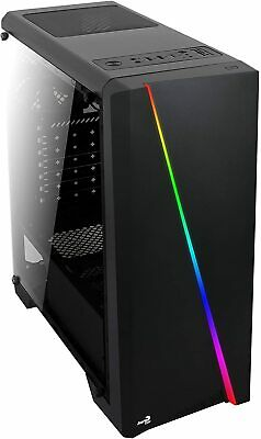 Intel i7 3.8GHZ Light Gaming PC  8GB  1TB Desktop Computer WIN 10