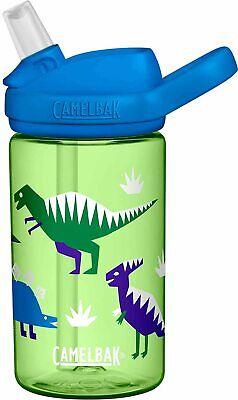 Eddy Kids BPA Free Water Bottle by Camelbak, 14 oz Hip Dinos