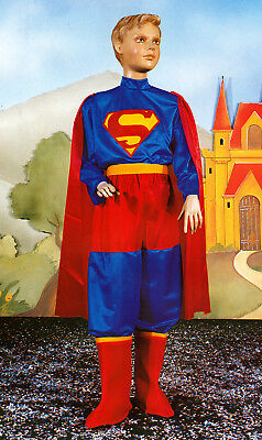 Kostüm von Karneval Kind Junge Pegasus Superman Gr. 6/11 Alter