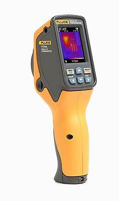 Fluke Vt04a Visual Ir Thermometer. Digital Camera With A Thermal Heat Map