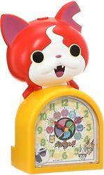 SEIKO Alarm Clock Jibanyan Character Shape Talking Alarm Analog JF378A New JP