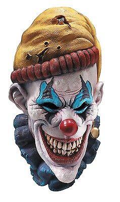 Psycho Hobo Clown Mask Deluxe Latex Overhead Face Crazy Bum Halloween Adult NEW](Halloween Psycho Mask)