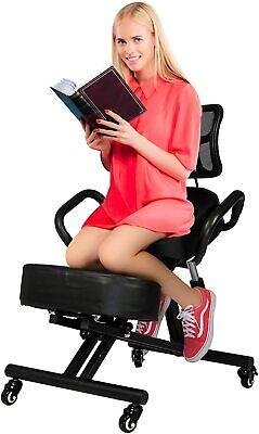 Koreyosh Adjustable Ergonomic Kneeling Knee Stool Posture Build Healthy Back