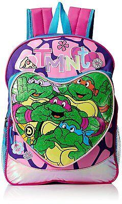 Teenage Mutant Ninja Turtles Girls' Heart Pocket 16