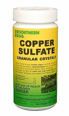 Copper Sulfate Granular Crystals   Southern Ag    1 Lbs   Sewer Root Killer