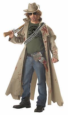 Halloween Costumes Zombie Hunter (Zombie Hunter Dead Cowboy Walking Fancy Dress Up Halloween Adult)