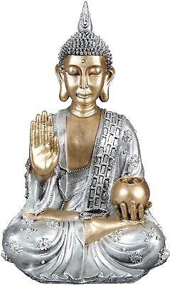Figura Estatua Buda Grande Decorativa   26 x 32 x 50 cm...