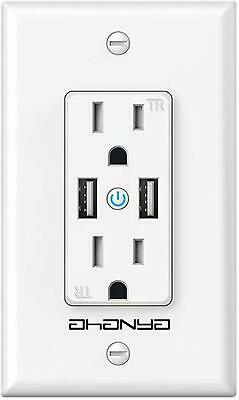Smart Wall Outlet Smart Usb Outlet Wifi Enabled Socket With Dual Usb Ports