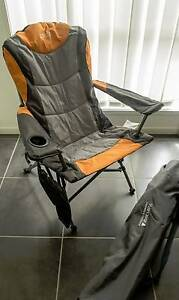 2 x Deluxe Camping Chairs (Used Once) Ormiston Redland Area Preview