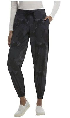 32 Degrees Cool  Womens Jogger Pants Navy  Palm Camo