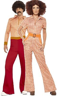 Couples Ladies AND Mens 70s Authentic Hippie Hippy Fancy Dress Costumes Outfits](70s Couples Costumes)