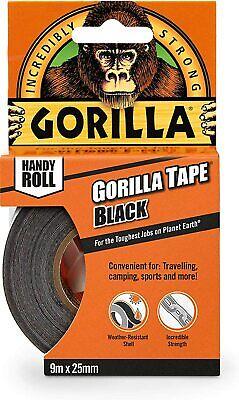 Gorilla 3044401 Tape Handy Roll 1-pack Black 1 Pack