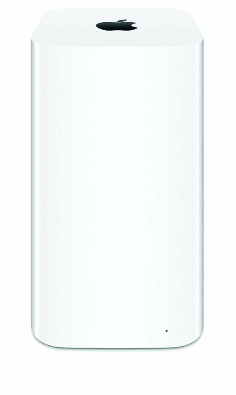 Apple AirPort Time Capsule 3TB Wireless Hard Drive & 802.11ac Wi-Fi Base Station White ME182LL/A