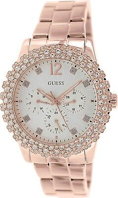 Guess Women\s U0335L3 Silver Stainless Steel Quartz Watch