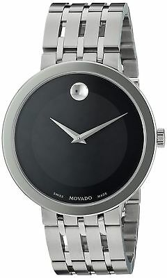 NEW Movado Esperanza Museum Stainless Steel 0607057 Mens Swiss Watch
