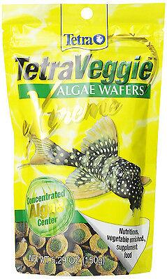 Tetra Veggie Algae Wafers 5.29 oz for Aquarium Bottom Feeders