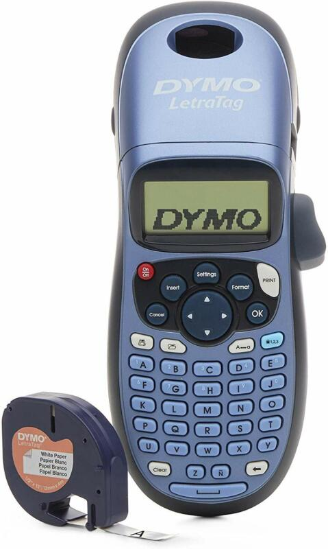 DYMO LetraTag LT-100H Handheld Label Maker for Office or Home  Colors May Vary