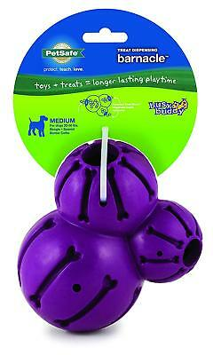 Petsafe Busy Buddy Barnacle Treat Dispensing Dog Puppy Chew Play Toy