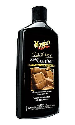 Meguiar's G7214 Gold Class Leather Cleaner and