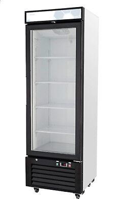 Migali C-12rm-hc Single Glass Door Merchandiser Refrigerator Free Shipping