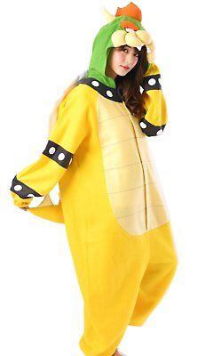 Super Mario Koopa Fleece Kigurumi Cosplay Costume Japan (Koopa Kostüm)