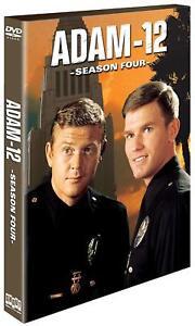 New: ADAM - 12 - Complete Fourth Season (4-Disc) DVD Set, 24 Episodes